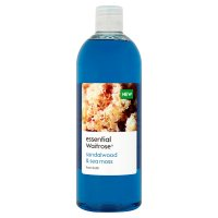 essential Waitrose sandalwood foam bath