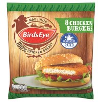 Birds Eye 8 Chicken Burgers