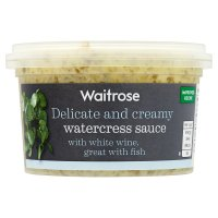 Waitrose watercress sauce
