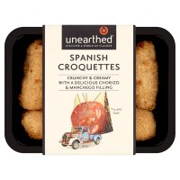 Unearthed Spanish croquettes