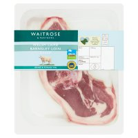 essential Waitrose 2 British Barnsley loin lamb chops