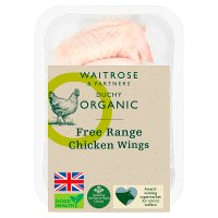Waitrose Duchy Organic 4 Free Range British chicken wings