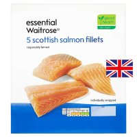 essential Waitrose Scottish salmon fillets