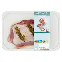 Waitrose Boneless Leg of Welsh Lamb Garlic & Rosemary
