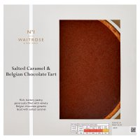 Waitrose 1 Salted Caramel & Chocolate Tart