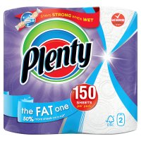 Image of Plenty The Fat One White Kitchen Towel