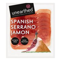 Unearthed serrano ham, 7 slices