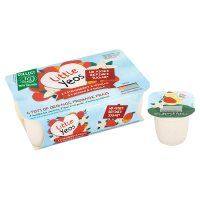 Little Yeos 6 organic strawberry & vanilla mango & vanilla yogurts