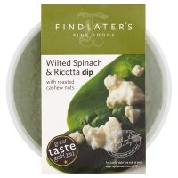 Findlater's wilted spinach & ricotta dip
