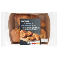 Waitrose mini breakfast pastries