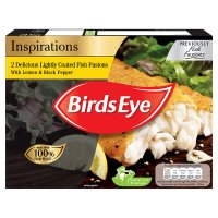 Birds Eye fish fusions 2 lemon & pepper fillets