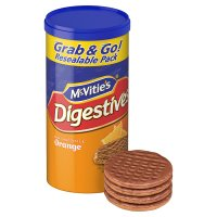 McVitie's digestives milk chocolate & orange