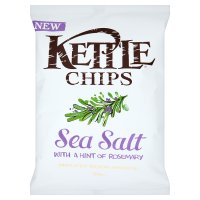 Kettle chips sea salt with a hint of rosemary