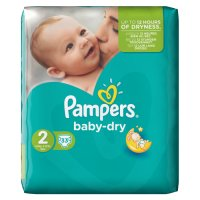 Pampers Baby Dry Size 2 Carry 37 Nappies