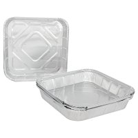 Waitrose Outdoors Foil Containers 25x24x6cm approx