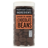 Waitrose Cooks' Homebaking chocolate mocha beans