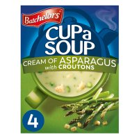 Batchelors 4 cup a soup cream of asaparagus