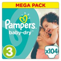 Pampers Baby Dry Size 3 MEGA 10
