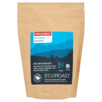 Eden project eco roast Far Eastern rainforest alliance ground coffee