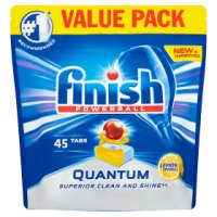 Finish Quantum Max Lemon Dishwasher Tablets, x45