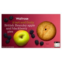 Waitrose 2 Bramley apple & blackberry pies