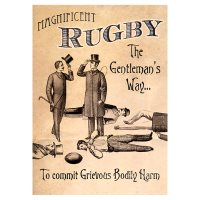 Rugby Male Birthday Card