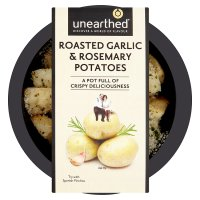 Unearthed roasted garlic & Rosemary potatoes