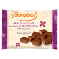 Thorntons triple chocolate caramel shortcakes