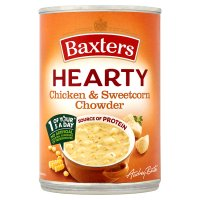Baxters hearty chicken & sweetcorn