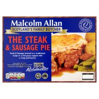 Malcolm Allan The Steak & Sausage Pie