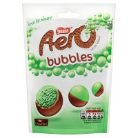 Aero Bubbles mint chocolate sharing bag