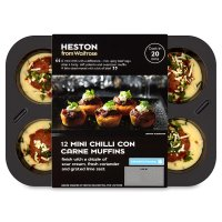 Heston from Waitrose 12 mini chilli con carne muffins