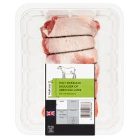 Waitrose 1 Half Boneless Shoulder of Abervale Lamb