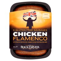 The Black Farmer 6 Chicken Flamenco Sausages