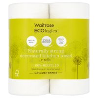 Waitrose Ecological Decor kitchen towel