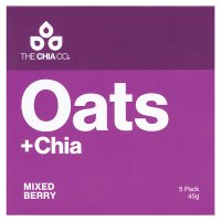 The Chia Co oats & chia mixed berry