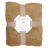 Deyong's Snuggle Touch Throw Latte
