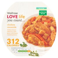 Waitrose LOVE Life you count  Chicken casserole