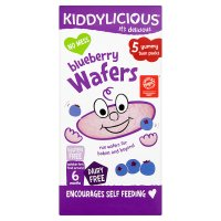 Kiddylicious blueberry 10 wafers