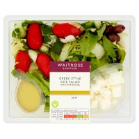 Waitrose Greek side salad