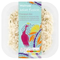 Waitrose Asian fusion coconut rice