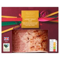 Waitrose Christmas Honey Roast Ham
