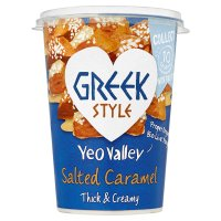 Yeo Valley Greek Style Salted Caramel Yeogurt