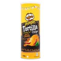Pringles tortilla chips spicy chilli