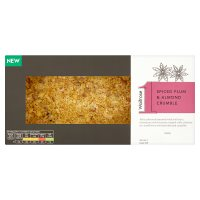 Waitrose 1 Plum & Almond Crumble