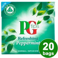 PG Tips refreshing peppermint 20 bags