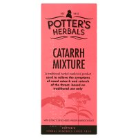 Potter's herbals catarrh mixture