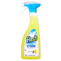 Flash clean & shine crisp lemons cleaner