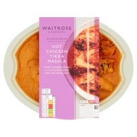 Waitrose Indian Hot Chicken Tikka Masala