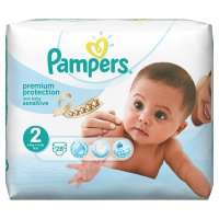 Pampers New Baby Sens 1 Carry 32 Nappies